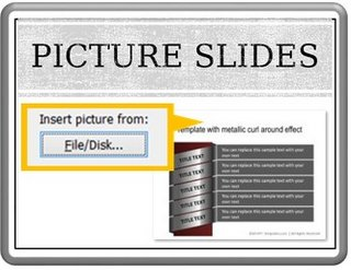 Presentation into Picture Slides