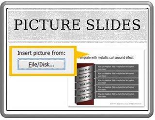 Presentation into Picture Slides