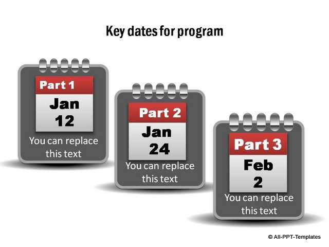 Key Dates Project Timeline