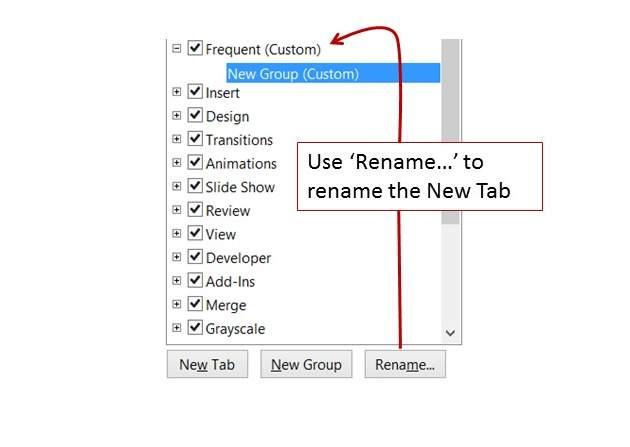 Rename New Tab