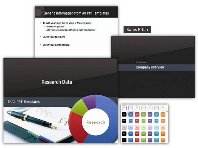 Research Data PowerPoint Theme