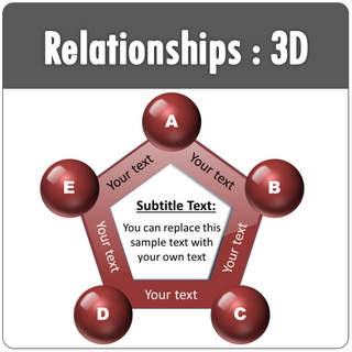 PowerPoint 3D Relationship