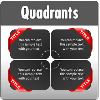 Powerpoint quadrant template page 1 powerpoint quadrants toneelgroepblik Images