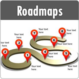 powerpoint roadmap templates