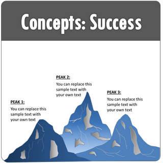 Powerpoint success metaphor templates powerpoint success maxwellsz