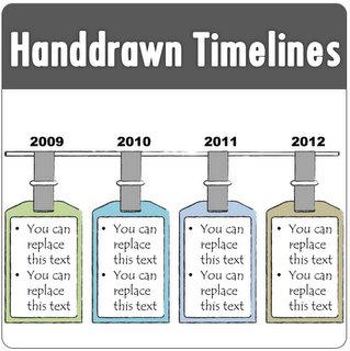PowerPoint Handdrawn Timeline