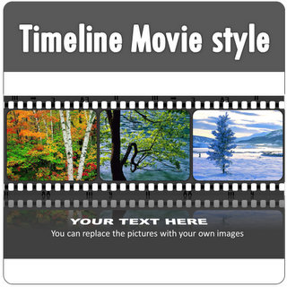 PowerPoint Timeline Movie Style