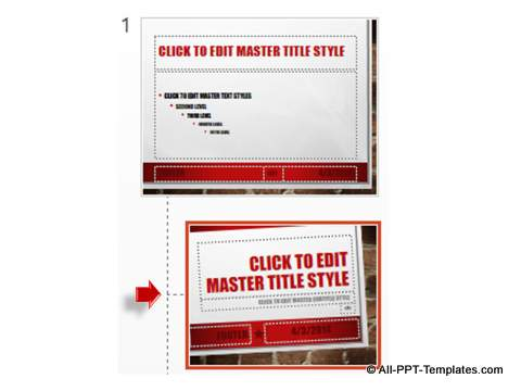 Select Master Layout for Theme