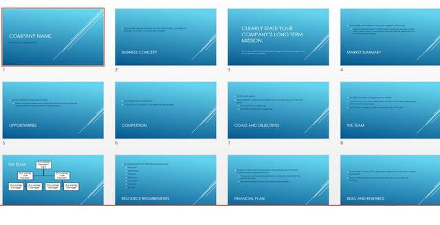 Slice PowerPoint Template