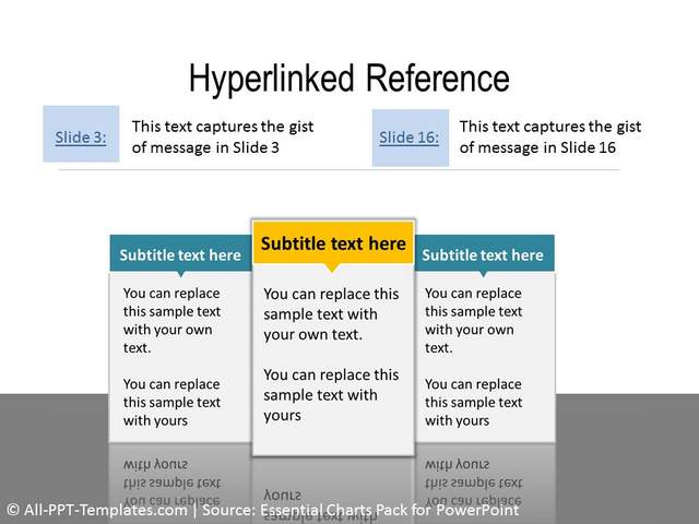 Example of Hyperlink Slide