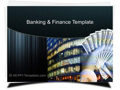 PowerPoint Finance BuildingTemplate