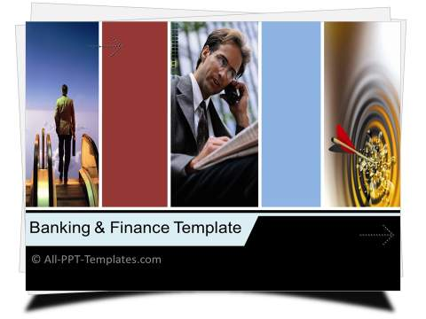 PowerPoint Finance Strategy Template