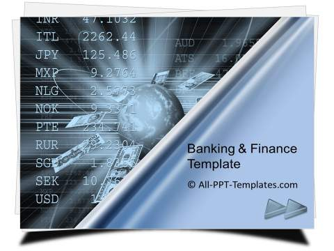PowerPoint Finance Stock Exchange Template