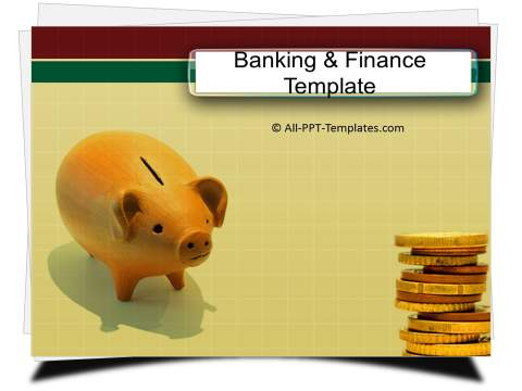 PowerPoint Banking Savings Template 2