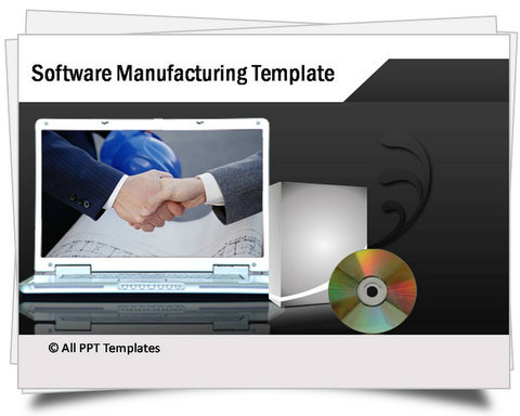 PowerPoint Software Manufacturing Template