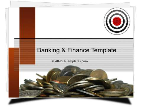 PowerPoint Money Target Template
