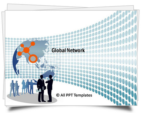 PowerPoint Global Network Template