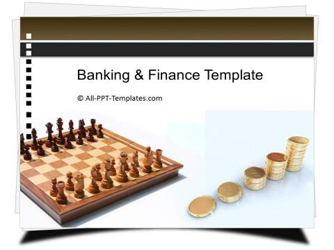PowerPoint Chess Finance Strategy Template