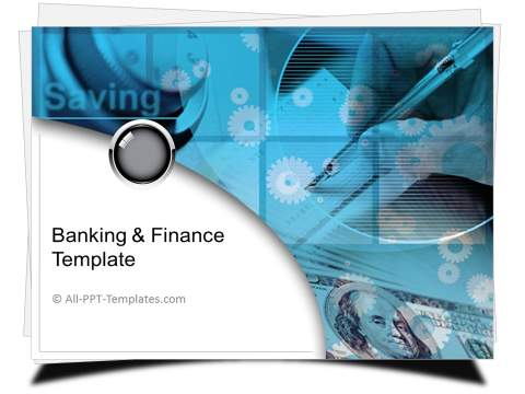 PowerPoint Finance Savings Template