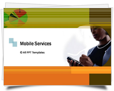 PowerPoint Mobile Services Template