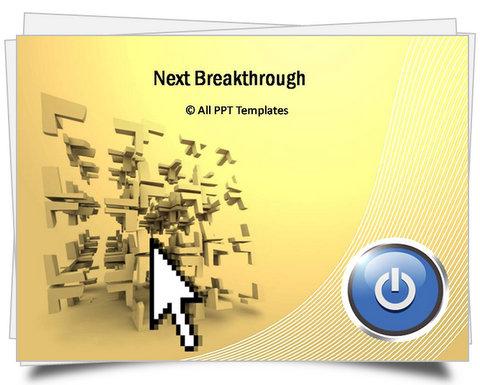 PowerPoint Next Breakthrough Template