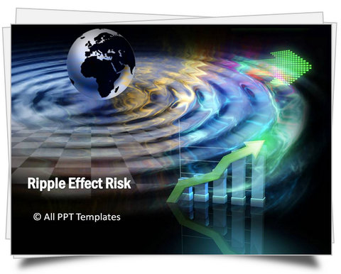 PowerPoint Ripple Effect Risk Template