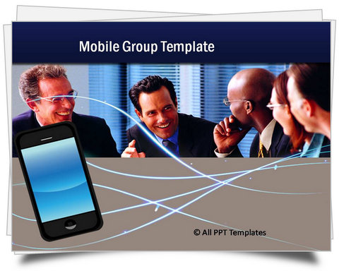 PowerPoint Mobile Group Template