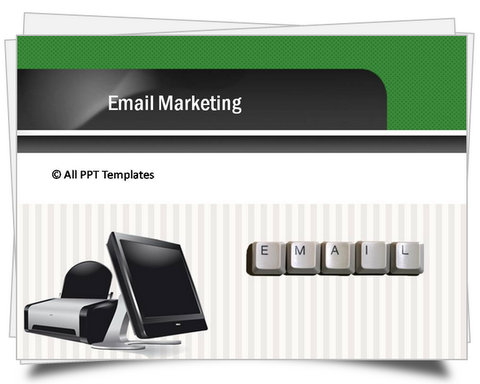 Powerpoint Email Marketing Template