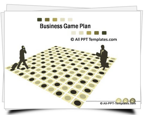 PowerPoint Business Gameplan Template