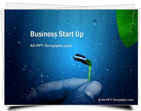 PowerPoint Business Start Up template