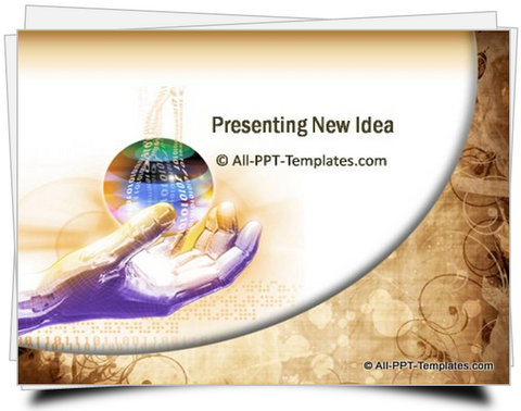 PowerPoint Creative New Business Idea  template