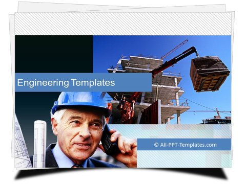 PowerPoint Building Construction Template
