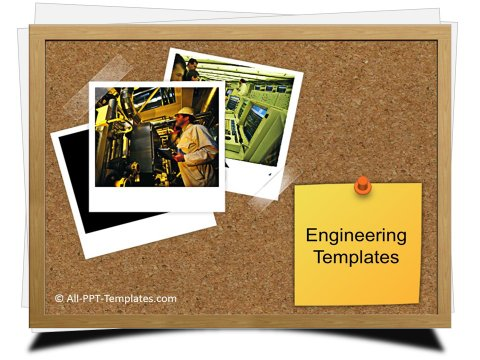 PowerPoint Engineering Photos Template