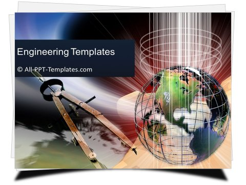 PowerPoint Engineering World Template