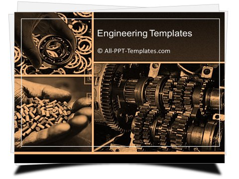 PowerPoint Machinery Template