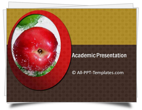 PowerPoint Academic Presentation Template