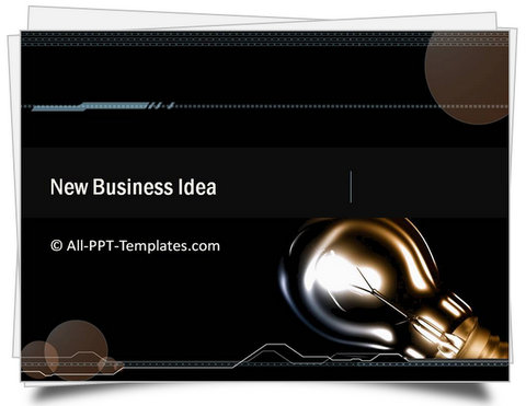 PowerPoint Business Idea Template