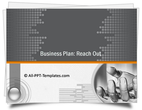 PowerPoint Plan Reach Out Template