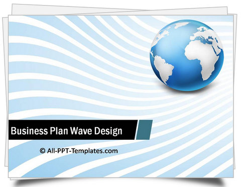 PowerPoint Wave Design Template