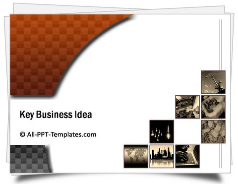 PowerPoint Business Highlights Template