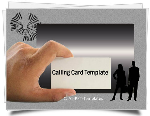 PowerPoint Calling Card Template