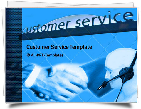 PowerPoint Customer Service Template