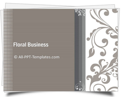 PowerPoint Floral Business Introduction