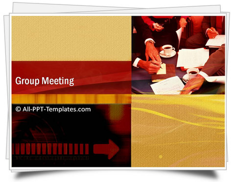 PowerPoint Group Meeting Template