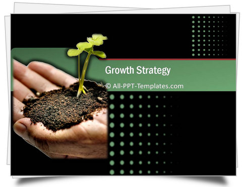 PowerPoint Growth Strategy Template