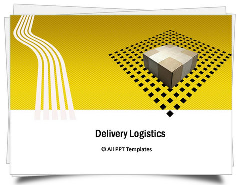 PowerPoint Logistics Delivery Template