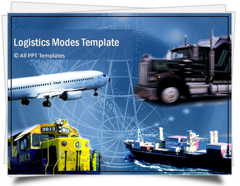 Powerpoint logistics template sets powerpoint logistics modes template toneelgroepblik Choice Image