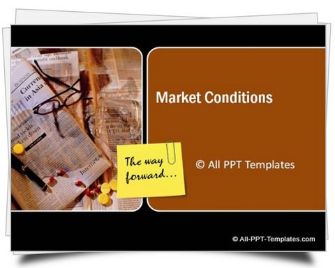 PowerPoint Market Conditions Template