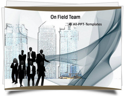 PowerPoint On Field Team Template