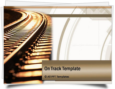 PowerPoint On Track Template